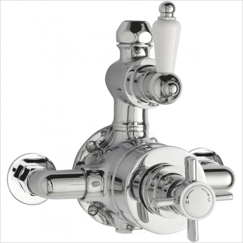 Nuie - Twin Thermostatic Shower Valve