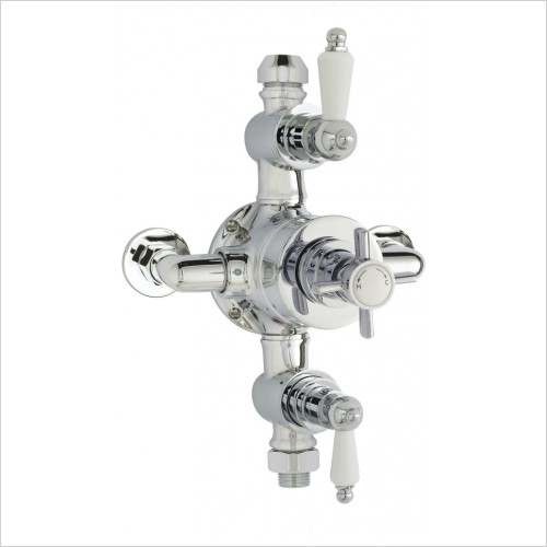 Nuie - Triple Thermostatic Shower Valve