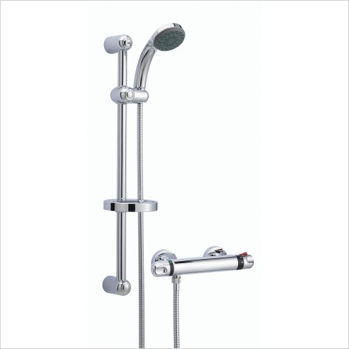 Nuie - Thermostatic Bar Shower With Kit