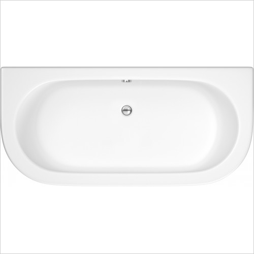 Nuie - Double Ended Back To Wall Bath