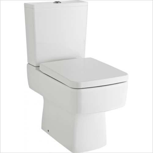 Nuie - Bliss Semi Flush To Wall Pan & Cistern