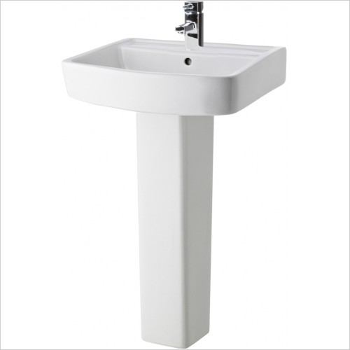 Nuie - Bliss 520mm Basin & Pedestal