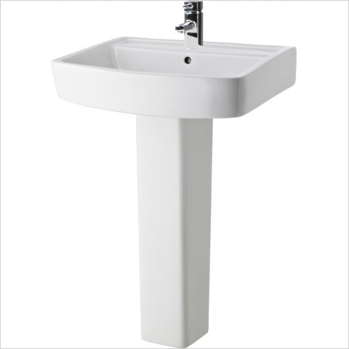 Nuie - Bliss 600mm Basin & Pedestal