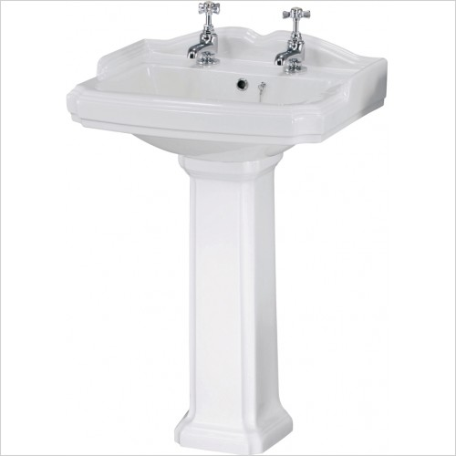 Nuie - Legend 580mm Basin & Pedestal