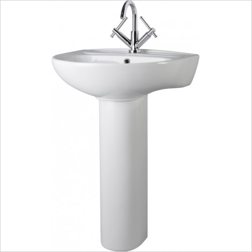 Nuie - Melbourne 550mm Basin & Pedestal