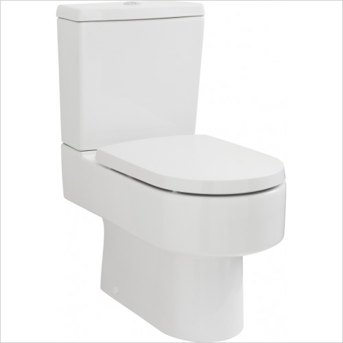 Nuie - Provost Semi Flush To Wall Pan & Cistern