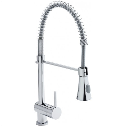 Nuie - Side Action Pull Out Rinser Kitchen Tap