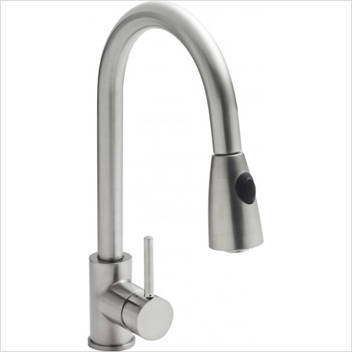 Nuie - Side Action Rinser Kitchen Tap
