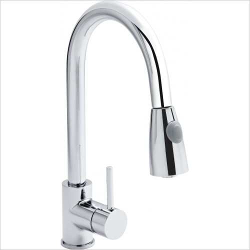 Nuie - Side Action Kitchen Tap With Rinser