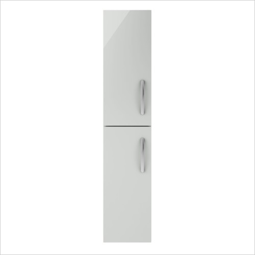 Nuie - 300mm Tall Wall Hung Unit 2-Door