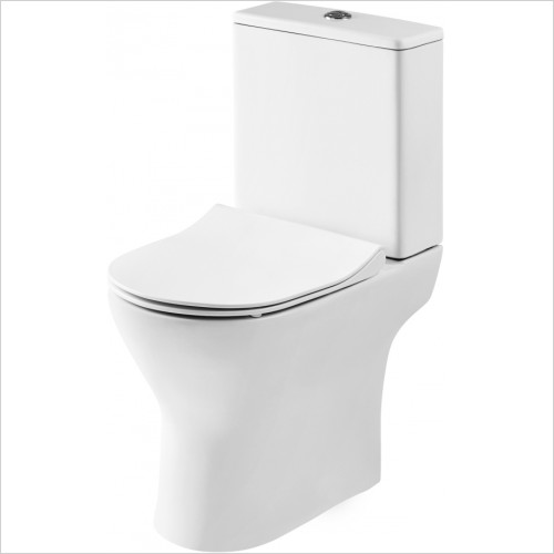 Nuie - Compact Pan, Cistern & Seat