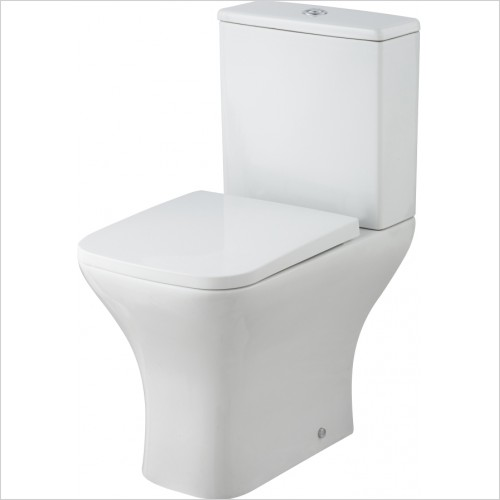 Nuie - BTW Pan, Cistern & Soft Close Seat