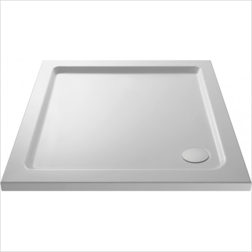Nuie - Pearlstone Square Shower Tray 700 x 700 x 45mm