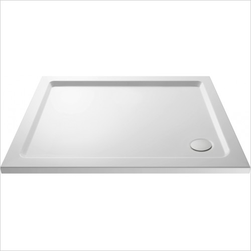 Nuie - Pearlstone Rectangular Shower Tray 1000 x 800 x 40mm