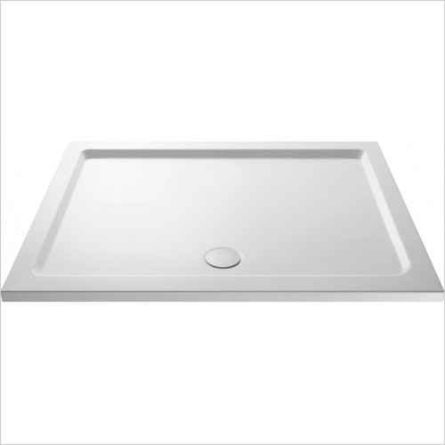 Nuie - Pearlstone Rectangular Shower Tray 1400 x 800 x 40mm