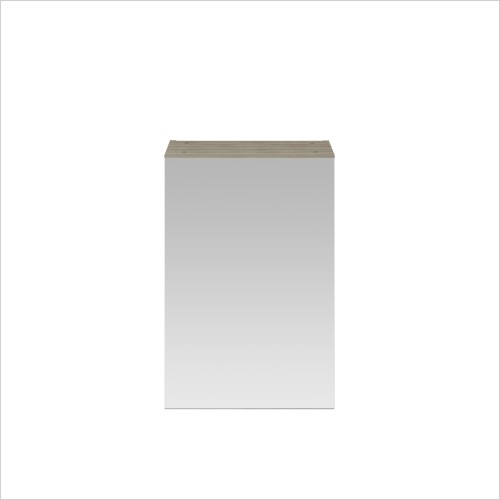 Nuie - 450mm Single Mirror Cabinet (180mm Deep)