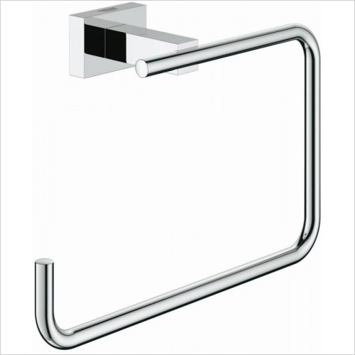 Grohe - Essentials Cube Towel Ring