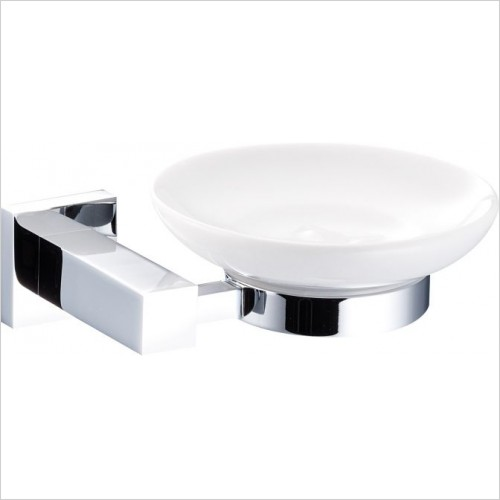Marflow - Quadre Ceramic Soap Dish & Holder