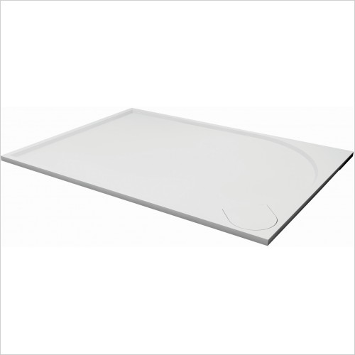 Qualitex Bathrooms - Ascent Premier 30mm Tray Panel Kit - Rectangular