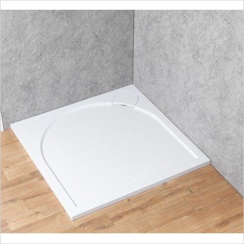 Qualitex Bathrooms - Ascent Premier 30mm Tray Panel Kit - Square