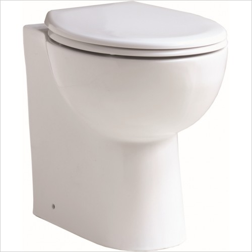 Qualitex Bathrooms - Cornell Comfort Back-To-Wall Pan & Soft Close Seat