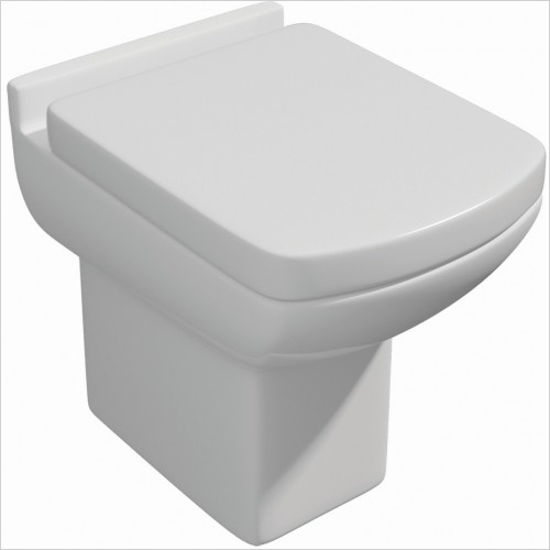 Qualitex Bathrooms - Eden Back To Wall Pan