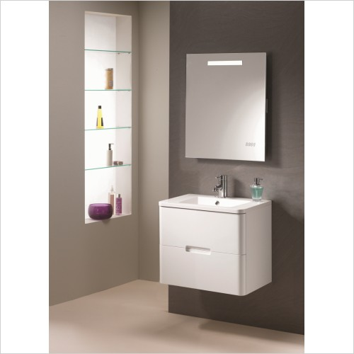 Qualitex Bathrooms - Eton 60 2 Drawer Base Unit
