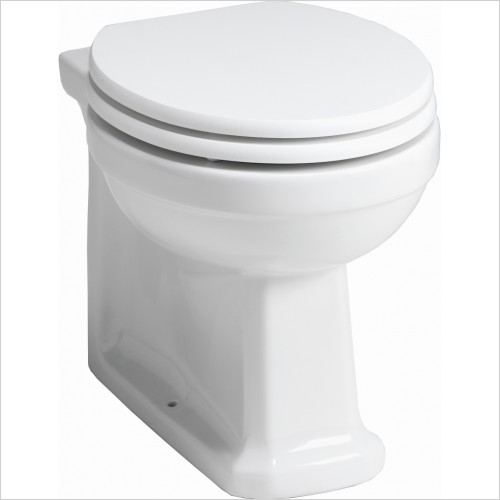 Qualitex Bathrooms - Grosvenor Back To Wall Pan Only