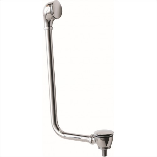 Qualitex Bathrooms - Click-Clack Bath Waste & P-Trap