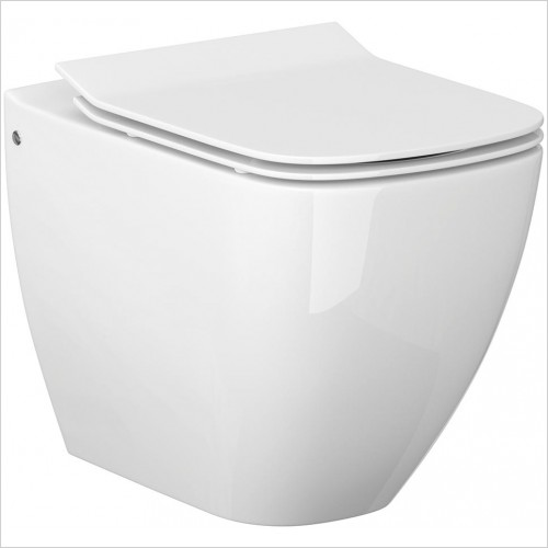 Qualitex Bathrooms - Metropolitan Back To Wall Pan Only