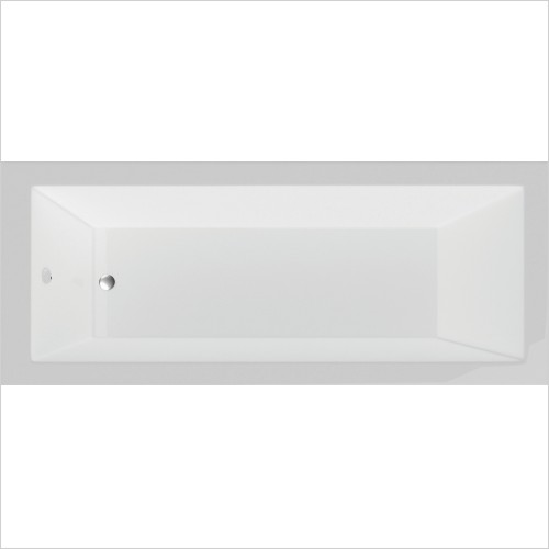 Qualitex Bathrooms - Montana Single Ended Bath 1700x700mm Superspec
