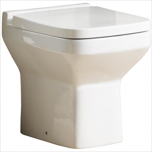 Qualitex Bathrooms - Nevada Back To Wall Pan Only