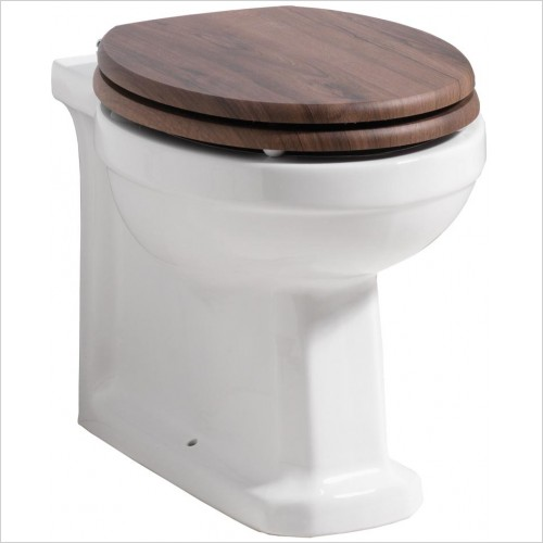 Qualitex Bathrooms - Nostalgic Back To Wall Pan Only