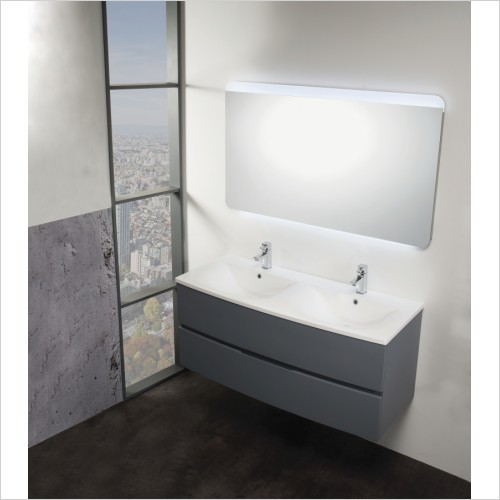 Qualitex Bathrooms - Oregon 120 Base Unit