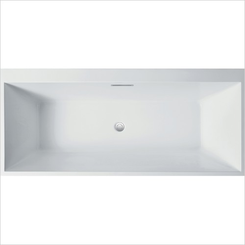 Qualitex Bathrooms - Porto 1800x800mm Freestanding Bath