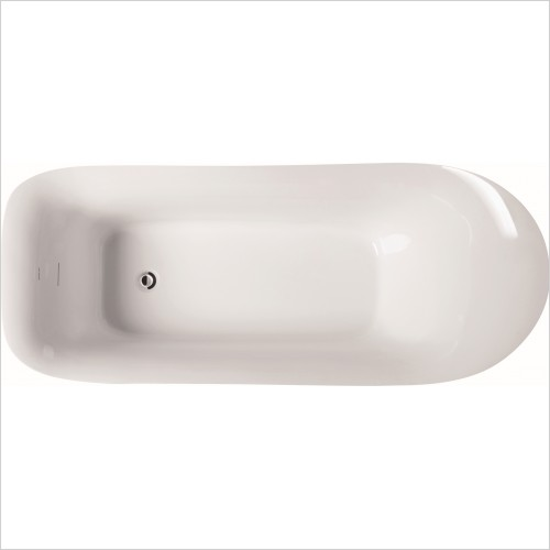 Qualitex Bathrooms - Helsinki 1800x790mm Freestanding Bath