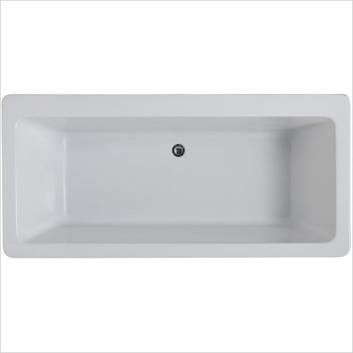 Qualitex Bathrooms - Aston Freestanding Bath 1700x800mm