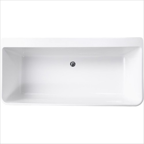 Qualitex Bathrooms - Cornell Contemporary Freestanding Bath 1650x790mm