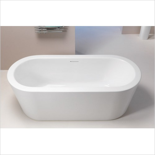 Qualitex Bathrooms - Grosvenor Freestanding Bath 1700x750mm