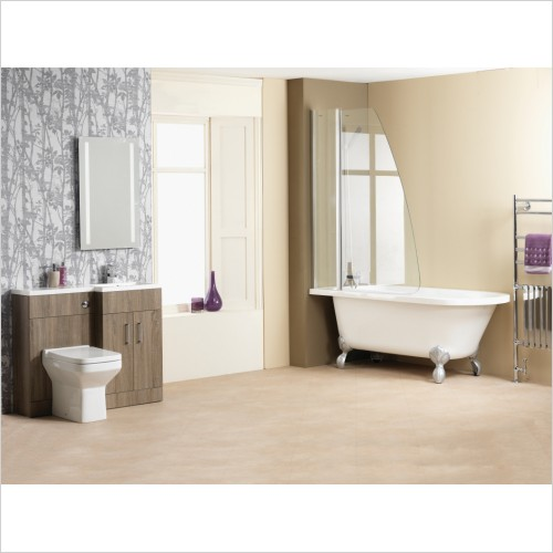 Qualitex Bathrooms - Harvard Freestanding Bath 1700x750mm