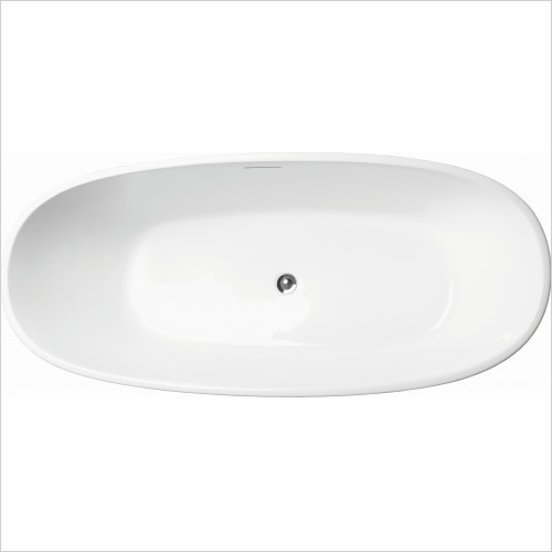 Qualitex Bathrooms - Rimini 1700x750mm Freestanding Bath
