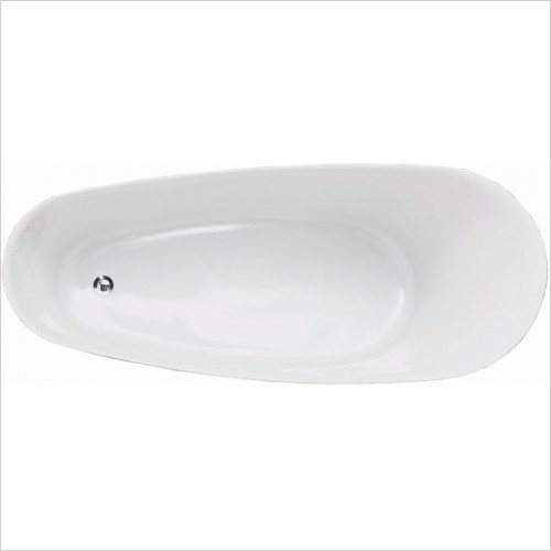 Qualitex Bathrooms - Roma Freestanding Bath 1650x700mm