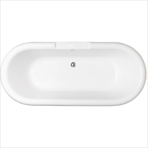 Qualitex Bathrooms - Romeo Freestanding Bath 1700x750mm