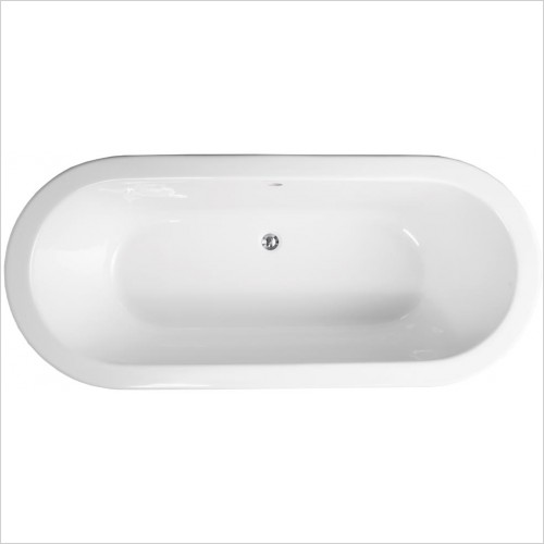 Qualitex Bathrooms - Stanford Freestanding Skirted Bath 1700x750mm