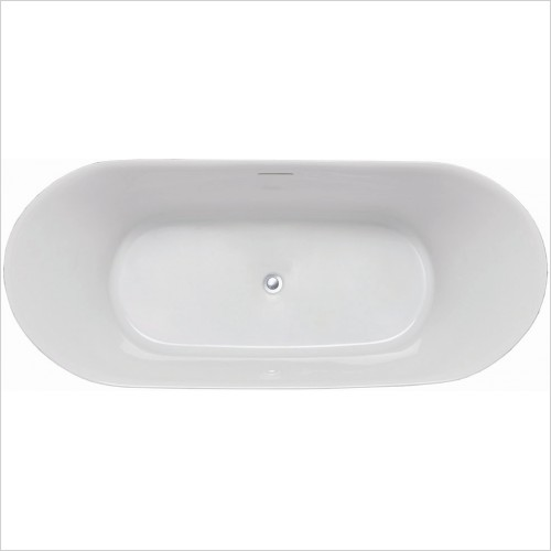 Qualitex Bathrooms - Valentina Freestanding Bath 1700x750mm