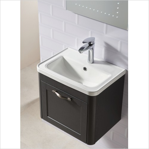Qualitex Bathrooms - Rimini 500x360 Wall Hung Basin Unit