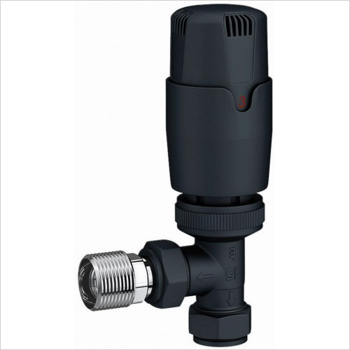 Qualitex Bathrooms - Thermo Radiator Valves Angled