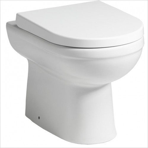 Qualitex Bathrooms - Carolina Elevated Height Back To Wall Pan & Soft Close WC