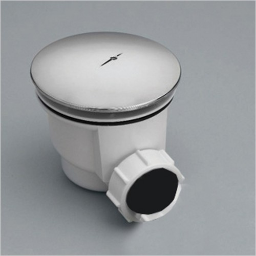 Qualitex Bathrooms - Ascent 90mm Shower Trap With Removable Waste