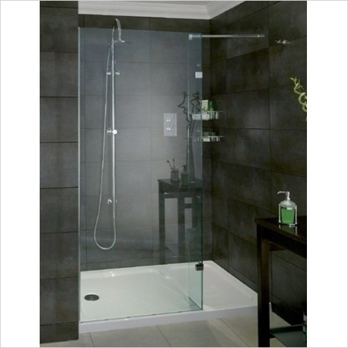 Aqata - Spectra Shower Screen Recess 1600x800mm RH Entry